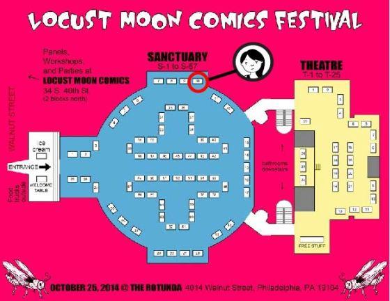Locust Moon Map